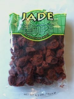 - Jade Brand Red Li Hing Mui Dried Plums 6.5 Ounces Made in Hawaii by Jade