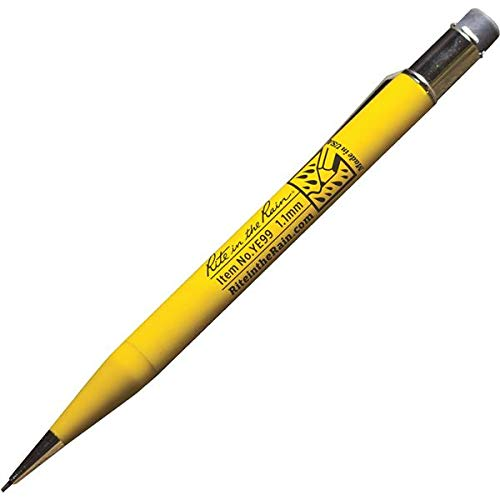 Rite in the Rain All-Weather Mechanical Pencil, Yellow Barrel, 1.1mm Black Lead (No. YE99)