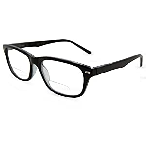 In Style Eyes Seymore Wayfarer BiFocal Reading Glasses