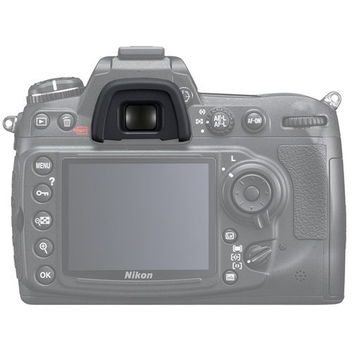 Dukars Eyepiece Eyecup Replacement Viewfinder Protector for Nikon DK-21 D7000 D90 D200 D300 D80 D70s D70 D600 D40 D50 by Dukars (Image #4)