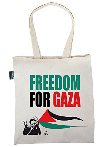 Starlite Neuheit Taschen-Freies Palästina-Freiheit für (Freedom for Gaza) Gaza Tote Shopper Tragetasche M2bwL1Fvs