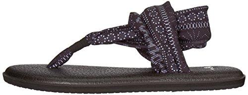 Shibori Sling white Sanuk Yoga Black 2 Women's Prints Stripes wxgBHq