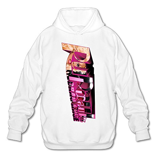 SAMMOI RuPauls Drag Race Men's Cool Hooded Sweatshirt S White