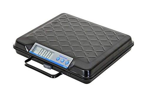 Brecknell GP100 USB Electronic General Purpose Bench Scale, 100LB Capacity, Portable, Internal Backlit Display, USB COM Port