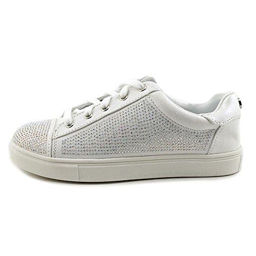 Girl Elanie Sneaker Material Fashion White Frauen Agx0dq