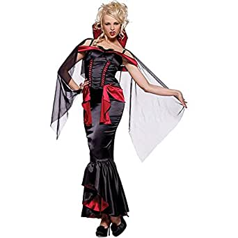Vampire Mistress Costume - Small - Dress Size 4-6