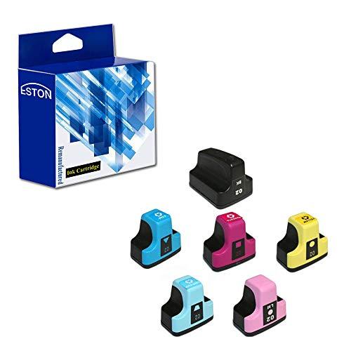 - ESTON High Yield Ink Cartridge Replacement for 02 02XL (1 x Black + 1 x Cyan + 1 x Magenta +1 x Yellow + 1 Light Cyan + 1 x Light Magenta)