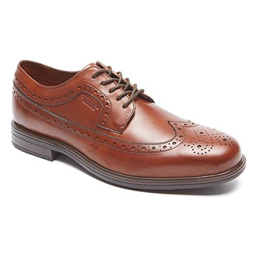 Rockport Mens Essential Details Waterproof Wingtip Oxford Shoe Tan v7FpAABL