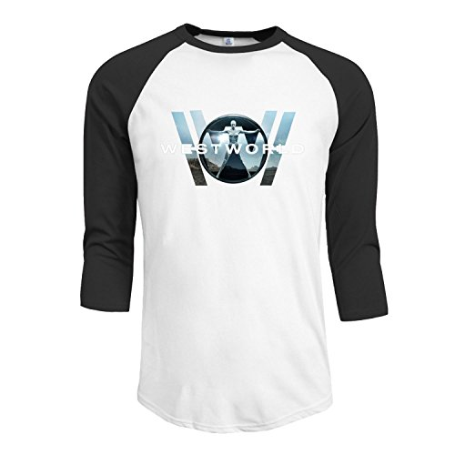 Men's Westworld Overlay A Long Sleeve Hooded Pullover Hoodies thumbnail