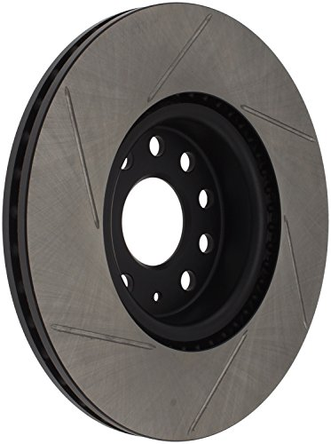 StopTech 126.33098SL Sport Slotted Brake Rotor; Front Left ()