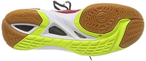 2 Mizuno Multicolore Chaussures Homme marsredwhitesafetyyellow Wave Mirage De Running qqHwrxfACE