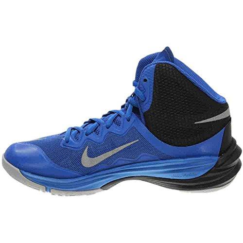 Nike Femmes Prime Hype Df Ii Jeu De Chaussures De Basket-ball Royal / Noir / Loup Gris / Reflètent Argent