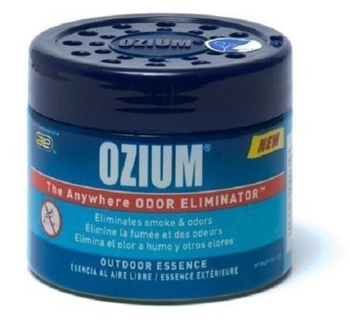 Ozium Smoke & Odors Eliminator Gel. Home, Office and Car Air Freshener 4.5oz (127g), Outdoor Essence Scent (2 pack) by Ozium