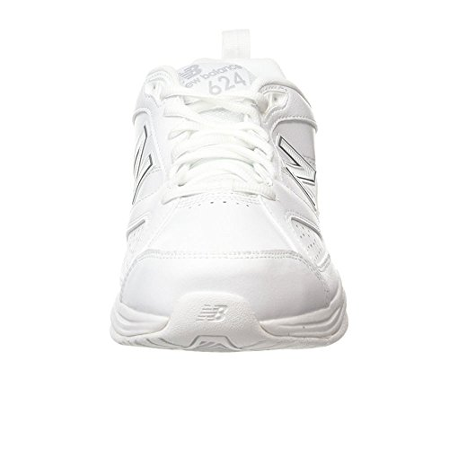 Blanc White Homme AW4 Balance Silver New EU White 46 624 de 5 Chaussures Fitness U0RZxYqFw