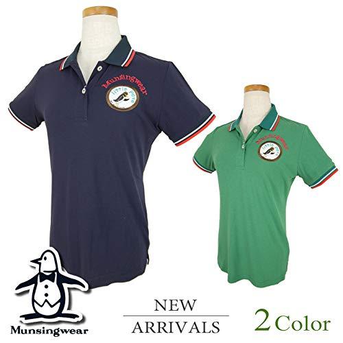 [マンシングウェア] 半袖シャツ (SODEKAHOコラボ) レディース ゴルフウェア M寸 グリーン(GR00) B07QW5BS1Q