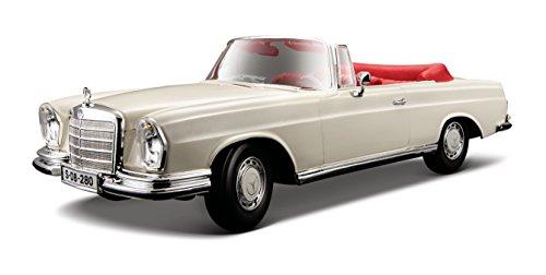 Maisto 1:18 1967 Mercedes-Benz 280SE Cabrio Diecast Vehicle