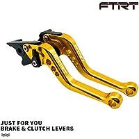 FTRT Short Brake Clutch Levers for Kawasaki ZX6R/636...