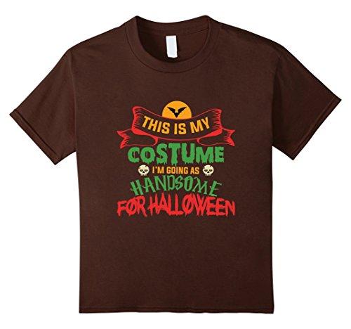 Kids Halloween Costume For Dad. Halloween Shirt For Son/Teens. 12 Brown
