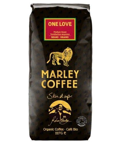 Marley Coffee Organic Medium Roast Coffee Beans - One Love 227g
