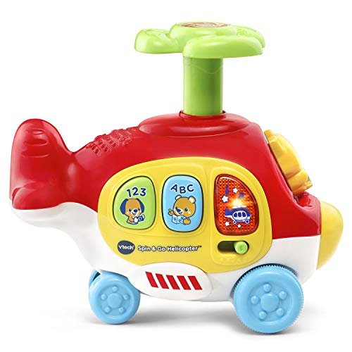 VTech Spin & Go Helicopter, Red