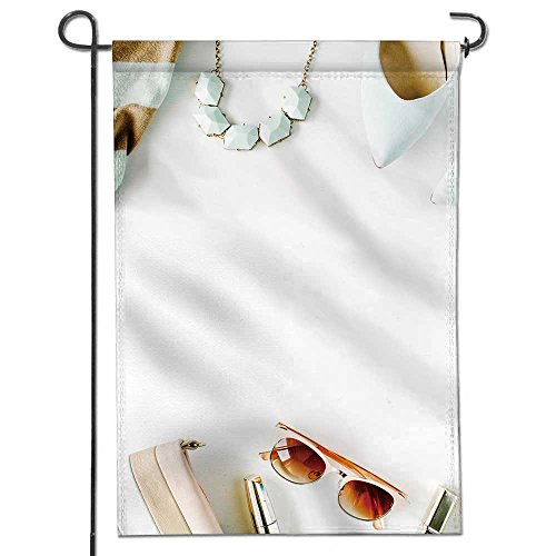 AmaPark Summer Garden Flag Double-sided,flat lay feminini cl