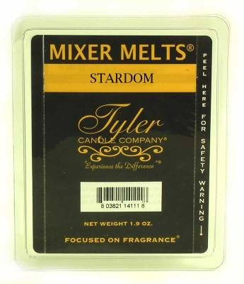 Stardom Fragrance Scented Wax Mixer Melts by Tyler Candles