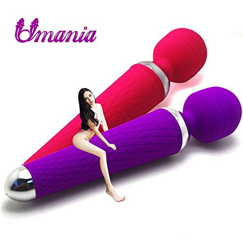 RedSonics(TM) Pocket Mini Magic Wand Massager, Products s, USB Rechargeable , Nipple Clitoral Stimulator
