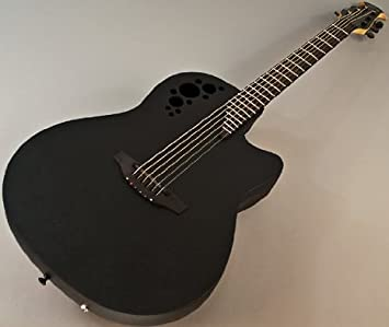 Ovation Elite Ereako Hard Case Included Acoustic Electric Guitars