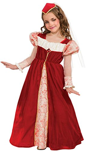 Rubie's Red Jewel Princess Dress-Up Costume, Medium (Princess Renaissance Costume)