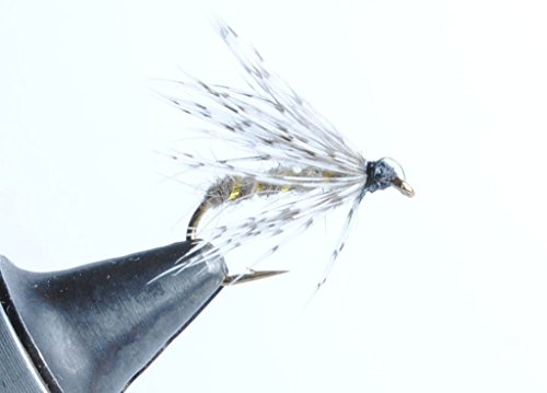 's Ear Soft Hackle Wet Fly (Natural, 16) ()