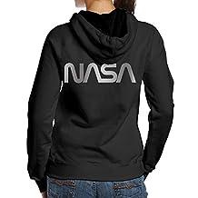 NASA Platinum Logo Women's Hoodies