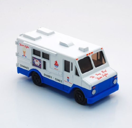 Mister Softee 3 Diecast Ice Cream Truck (1/72 Scale) by MegaHobby by MegaHobby