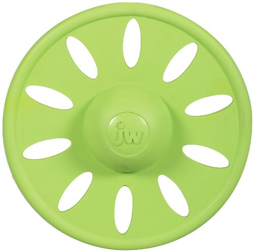 JW Pet Company Whirlwheel Flying Disk Dog Toy, Large, Colors Vary
