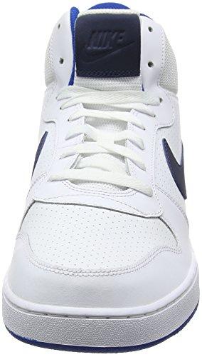 Nike Blanc Borough Court Blue Jay Homme Hautes Baskets Mid White Blue Thunder rArpwYqf