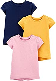 Simple Joys by Carter's Baby-Girls 3-Pack Solid Short-Sleeve Tee Shirts S