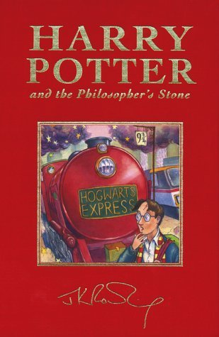By J.K. Rowling Harry Potter and the Philosopher's Stone, Deluxe British Edition...