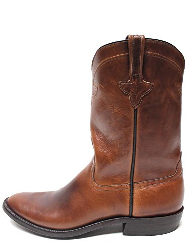 Rios of Mercedes Chromexcel Roper Chocolate Mens Boots 2623N | Boot Star-Brown-9-D