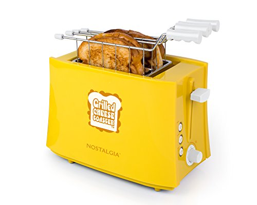 Grilled Cheese (Nostalgia TCS2 Grilled Cheese Sandwich Toaster)
