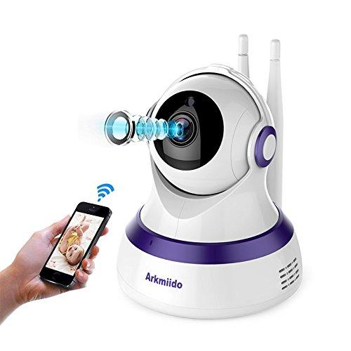 wireless surveillance baby monitor two