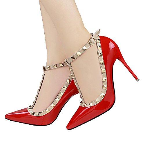 Guoar - Cerrado Mujer Rojo - rojo