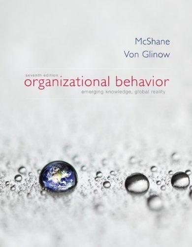 Organizational Behavior with ConnectPlus