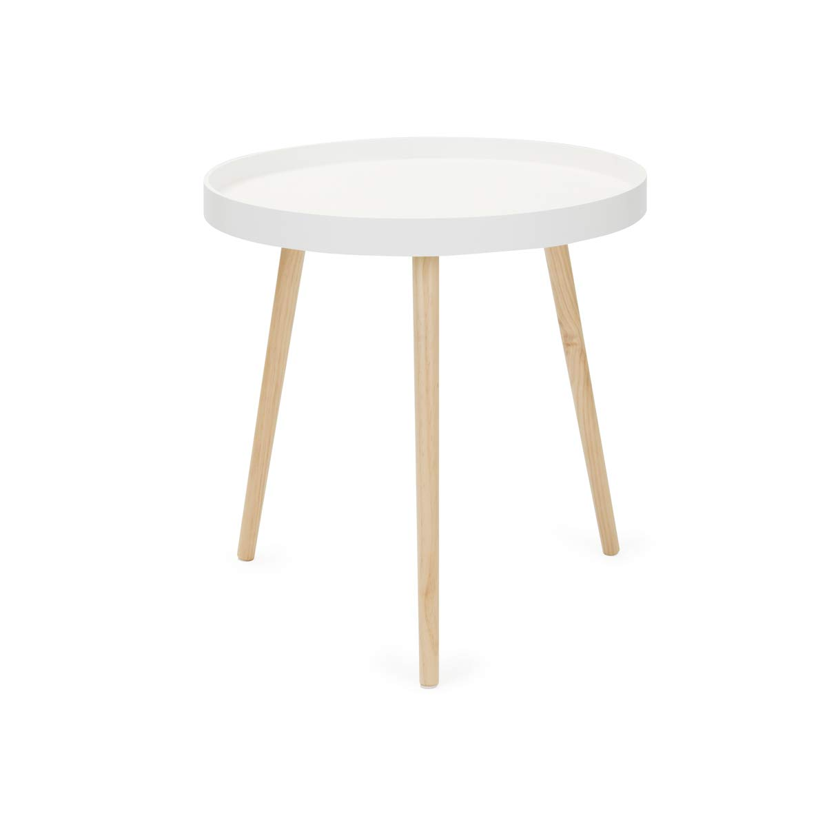 Birlea Espresso Table, MDF, Steel, Small China ESPSTSTE