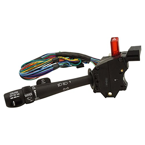 Cruise Control Windshield Wiper Arm Turn Signal Lever Switch for Chevy GMC Truck (Silverado Turn Signal Lever Switch)