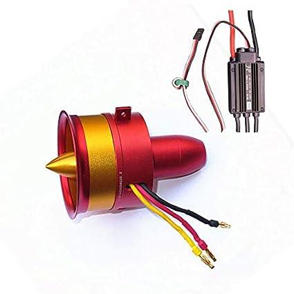 Jet motor: Hot Sale Metal JP/GP 70mm Ducted Fan EDF with