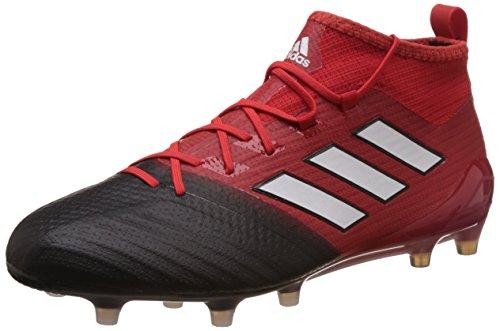 Rojo Red Bota ftwbla white Adidas Primeknit Ace 1 core negbas Black Fútbol Rojo Fg De 17 rosso Bw4fxwg
