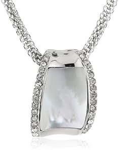 Skagen Klassik Holiday - Collar de acero inoxidable con circonita