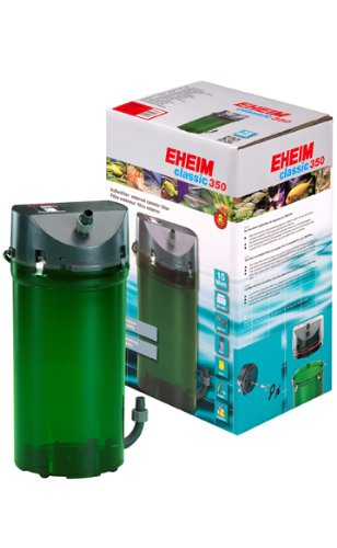 Pump Eheim (EHEIM Classic 2215371 External Canister Filter with Media for up to 92 US Gallons)