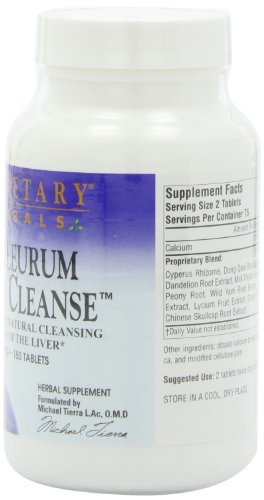 Planetary Herbals Bupleurum Liver Cleanse 545mg - With Calcium, Cypress Rhizome, Ginger & More - 150 Tablets (Pack of 2) by Planetary Formulas (Image #3)