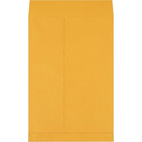 Top Pack Supply Jumbo Envelopes, 12 1/2'' x 18 1/2'', Kraft (Pack of 100) by Top Pack Supply