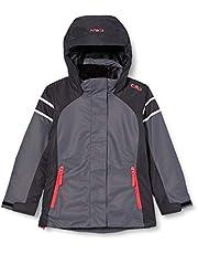 CMP Girls Ski Jacket with Fixed Hood, Girls, 30W0035